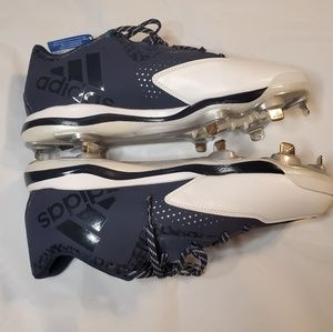 Adidas mens sz 12 baseball cleats iron skin